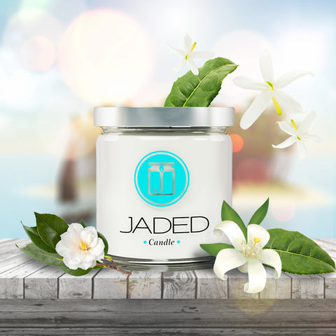 Jaded Candle Soy Wax Scented Candle White Tea Candle