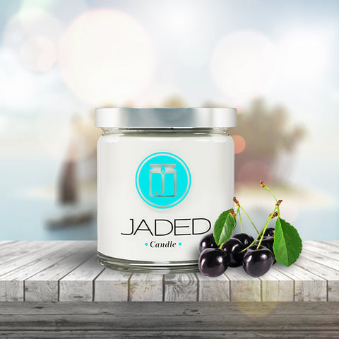 Jaded Candle Soy Wax Scented Candle Black Cherry Candle