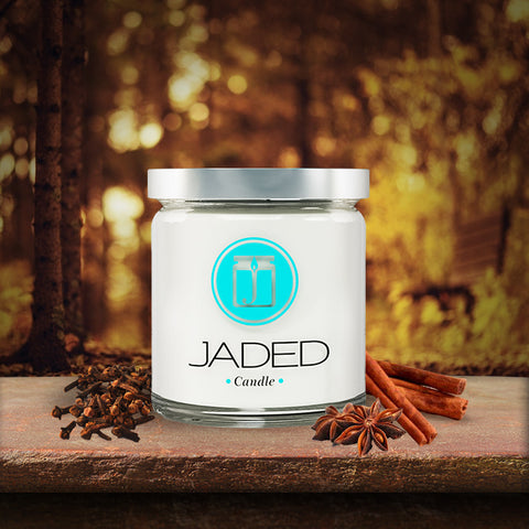 Jaded Candle: Wassail Scented Soy Candle; Handmade Soy Candle