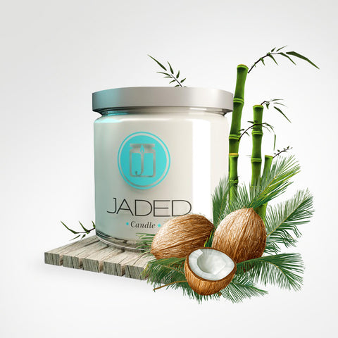 COCONUT BAMBOO CANDLE