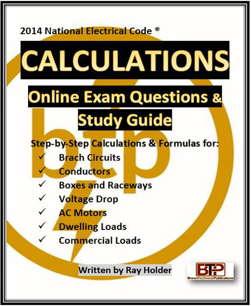 Online Calculations for Electrical Exam Simulated Testing