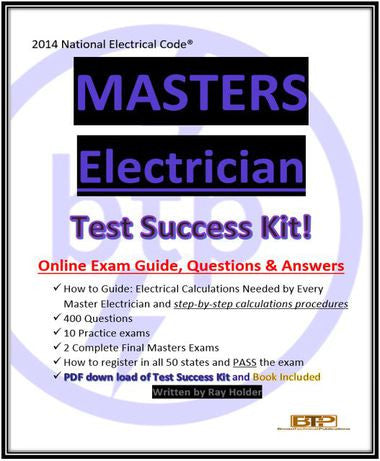 2014 Online Masters Electrician Simulated Testing