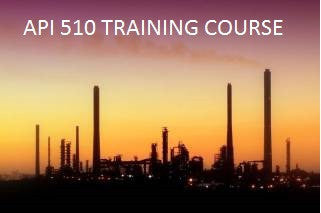 API 510 TRAINING COURSE