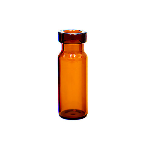 11 mm Crimp Top Vials, Amber Glass, 100 pcs/pk
