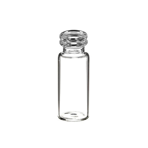 11 mm Snap Top Vials, Clear Glass, 100pcs/pk