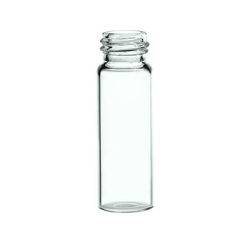 13 mm Screw Top Vials, Clear Glass, 100 pcs/pk