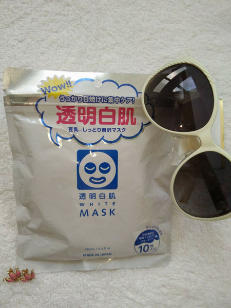 石泽研究所透明白肌面膜 Ishizawa Labs White Mask