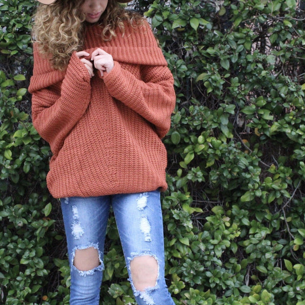 Brick Sweater