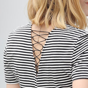 3 ways to wear striped top
