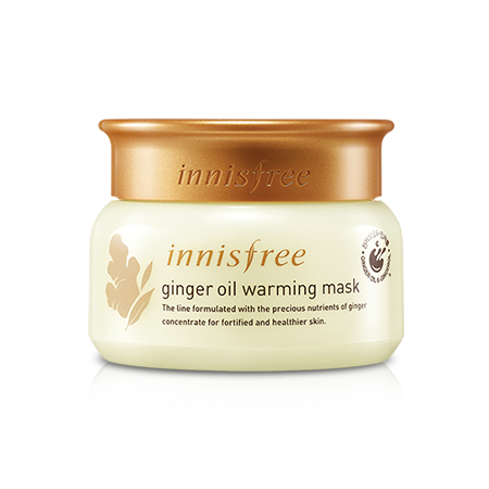 INNISFREE GINGER OIL WARMING MASK - impraid