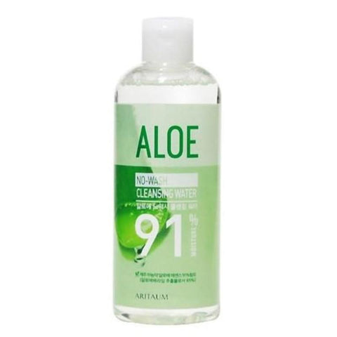 ARITAUM ALOE NO-WASH CLEANSING WATER 91%