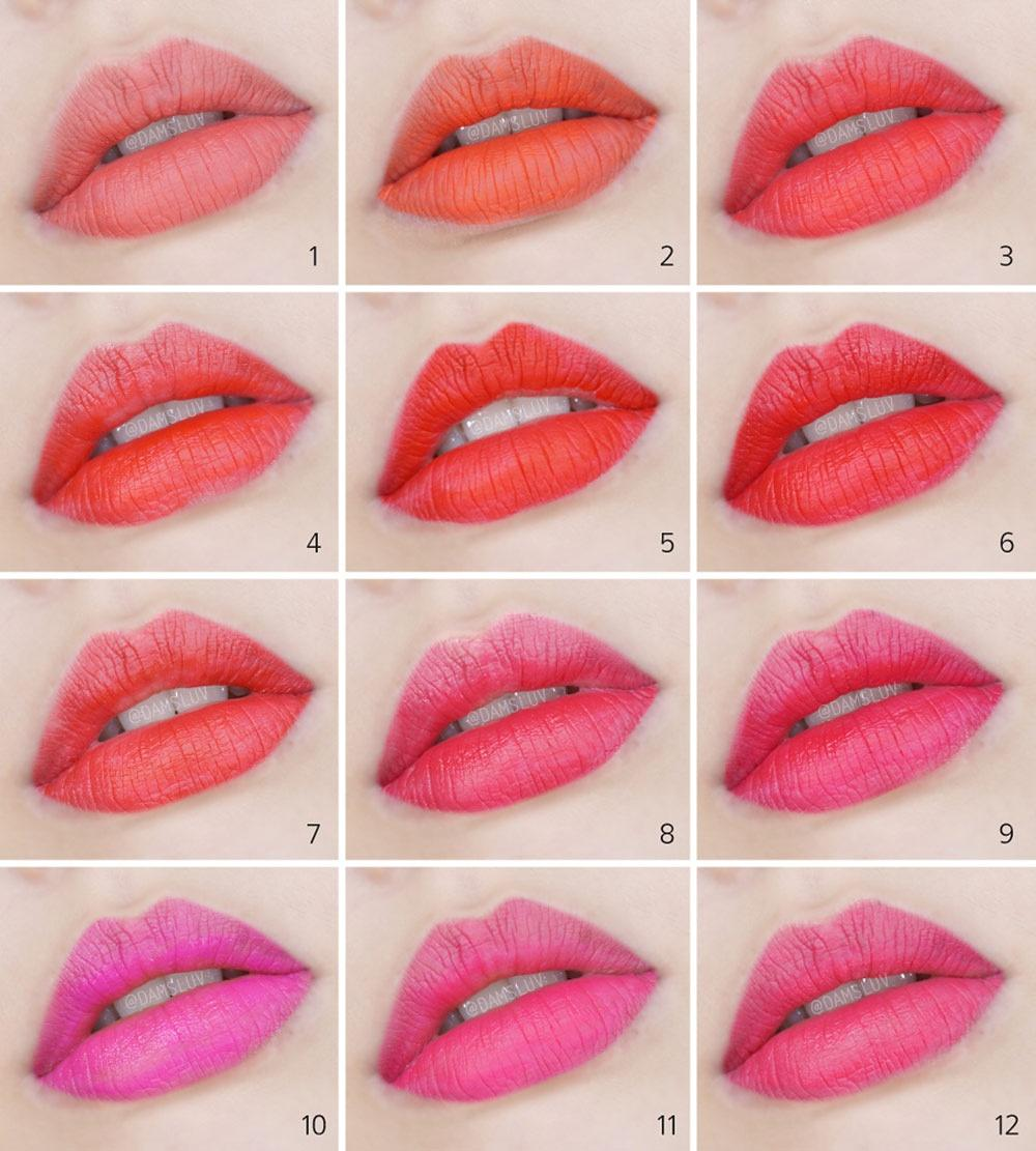ARITAUM LIP COVER COLOR TINT 12 COLORS - IMPAVIID