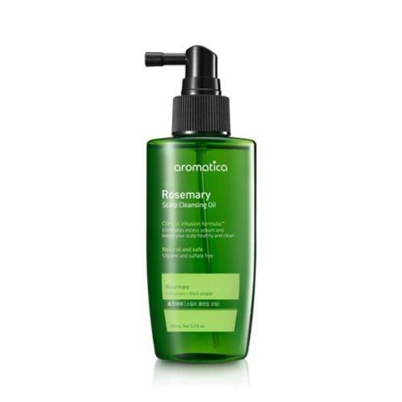 AROMATICA ROSEMARY SCALP CLEANSING OIL 100ML - IMPAVIID