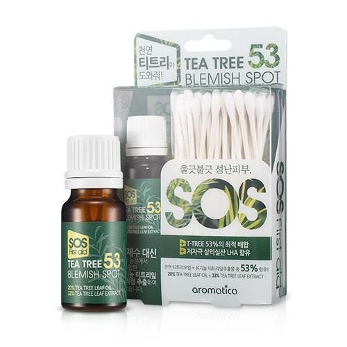 TRAITEMENT DES SPOTS BLEMISH 53ML - IMPAVIID AROMATICA TEA TREE
