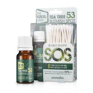 AROMATICA TEA TREE 53 눈 깜박임 치료 10ML - IMPAVIID
