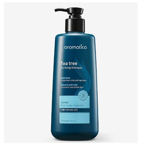 AROMATICA TEA TREE PURIFYNG SHAMPOO 400ML - IMPAVIID
