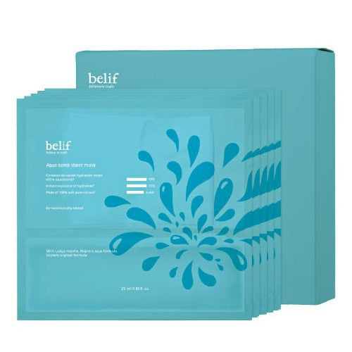 BELIF AQUA BOMB SHEET MASK 5PSC/BOX