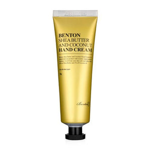 BENTON SHEA BUTTER AND COCONUT HAND CREAM 50G - IMPAVIID