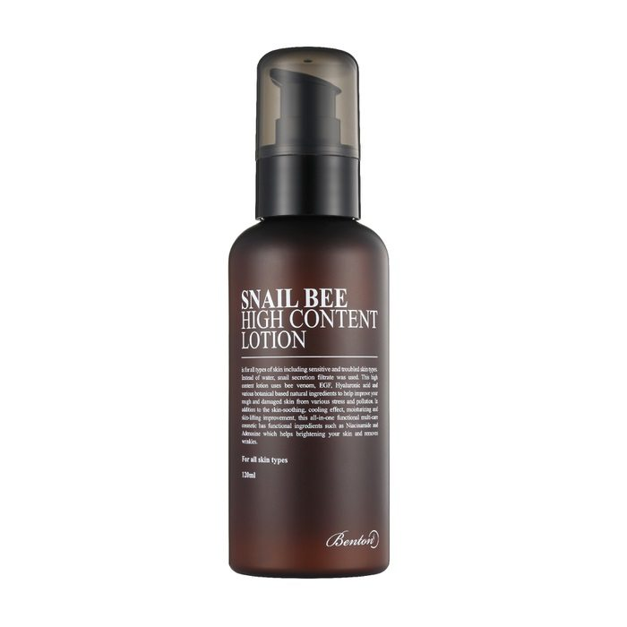 LOTION 120ML DE BENTON SNAIL BEE HIGH CONTENT - IMPAVIID