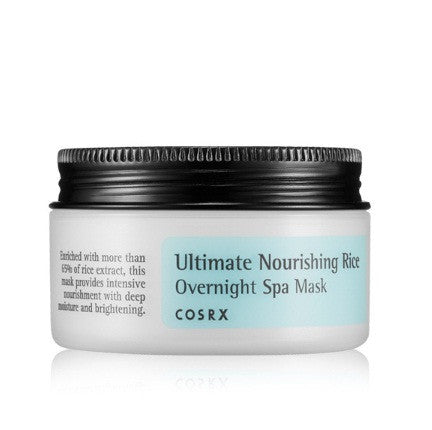 COSRX ULTIMATE NOURISHING RICE OVERNIGHT SPA - impaviid