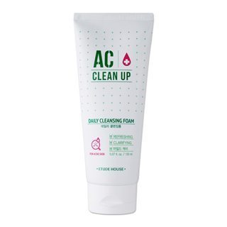 ETUDE HOUSE AC CLEAN UP DAILY CLEANSING FOAM 150ML - impaviid
