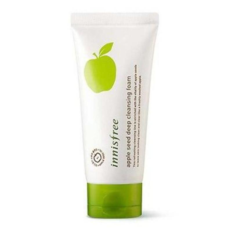 INNISFREE APPLE SEED DEEP CLEANSING FOAM - impaviid