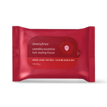 INNISFREE CAMELLIA ESSENTIAL HAIR STYLING TISSUE 15 PCS