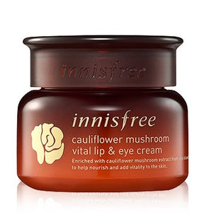 INNISFREE CAULIFLOWER MUSHROOM VITAL LIP AND EYE CREAM - impavid