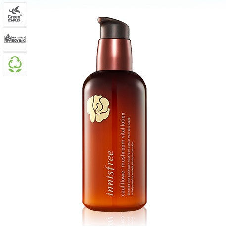 INNISFREE CAULIFLOWER MUSHROOM VITAL LOTION - IMPAVID GIRL
