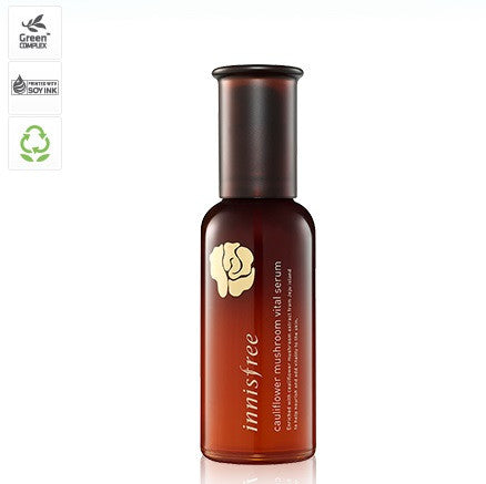INNISFREE CAULIFLOWER MUSHROOM VITAL SERUM - IMPAVID GIRL