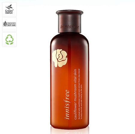 INNISFREE CAULIFLOWER MUSHROOM VITAL SKIN - IMPAVID GIRL