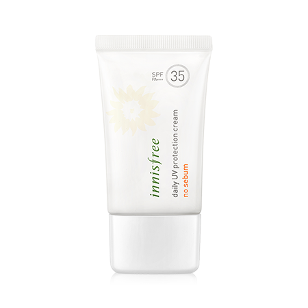 INNISFREE DAILY UV PROTECTION CREAM NO SEBUM SPF 35 PA+++