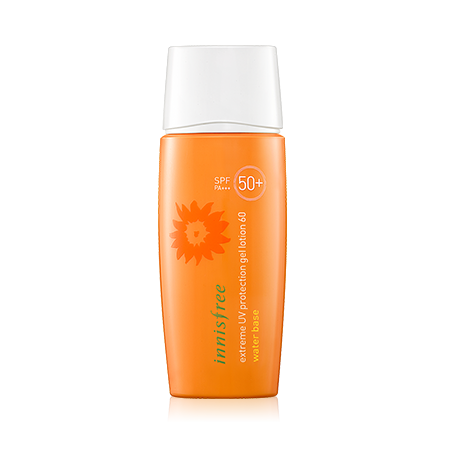 INNISFREE EXTREME UV PROTECTION GEL LOTION 60 WATER BASE SPF 50 PA +++ - impaviid