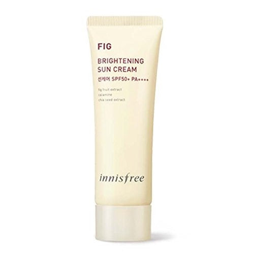 INNISFREE FIG BRIGHTENING SUN CREAM 40ML - impaviid