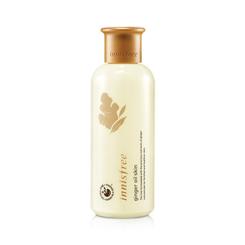 INNISFREE GINGER OIL SKIN TONER - IMPAVID GIRL