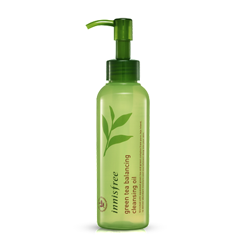 INNISFREE GREEN TEA BALANCING CLEANSING OIL - IMPAVID GIRL