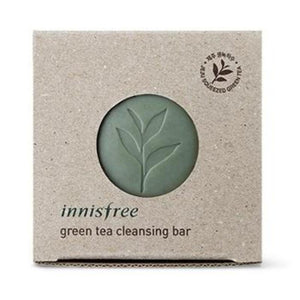 INNISFREE GREEN TEA CLEANSING BAR - impaviid