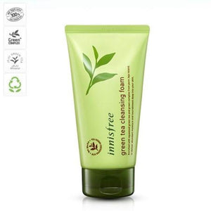 INNISFREE LEAF TEA CLEANSING FOAM - impyerto