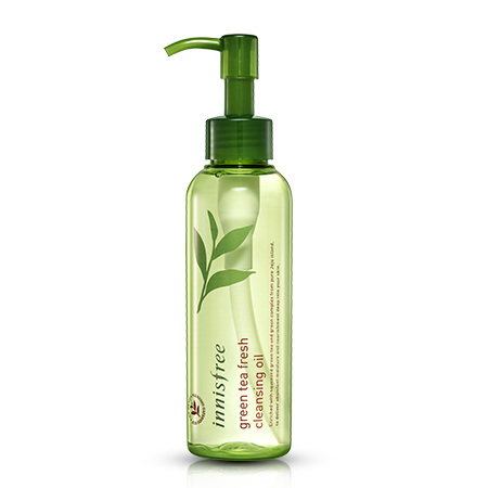 INNISFREE GREEN TEA FRESH CLEANSING OIL - IMPAVID GIRL
