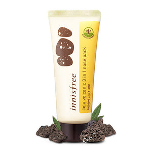 INNISFREE JEJU VOLCANIC 3 IN 1 NOSE PACK - impaviid