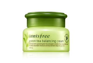 INNISFREE GREEN TEA BALANCING CREAM - impaviid