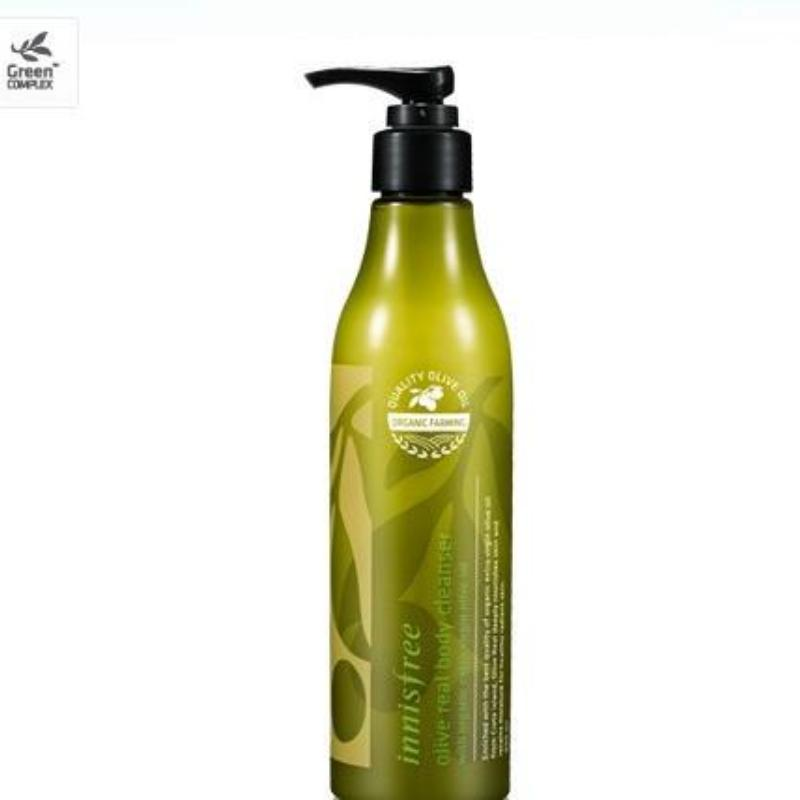 INNISFREE OLIVE REAL BODY CLEANSER - impaviid
