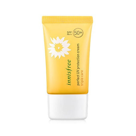 INNISFREE PERFECT UV PROTECTION CREAM TRIPLE CARE SPF 50 PA+++ - impaviid
