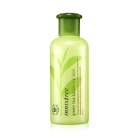 INNISFREE GREEN TEA BALANCING SKIN TONER - IMPAVID GIRL