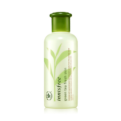 INNISFREE GREEN TEA FRESH SKIN TONER - IMPAVID GIRL