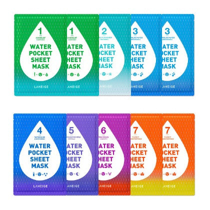 LANEIGE WATER POCKET SHEET MASK 10PCS