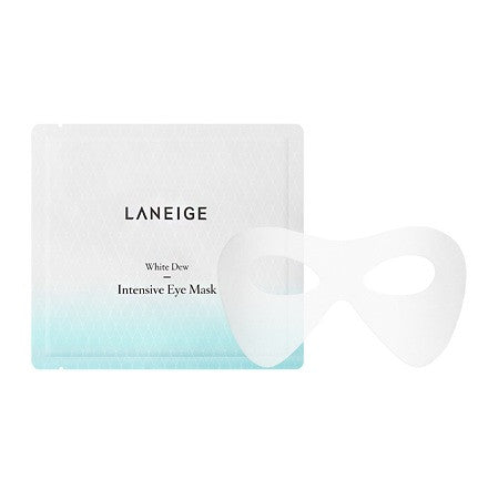 LANEIGE WHITE DEW INTENSE EYE MASK 8PCS X 10GR - impissid