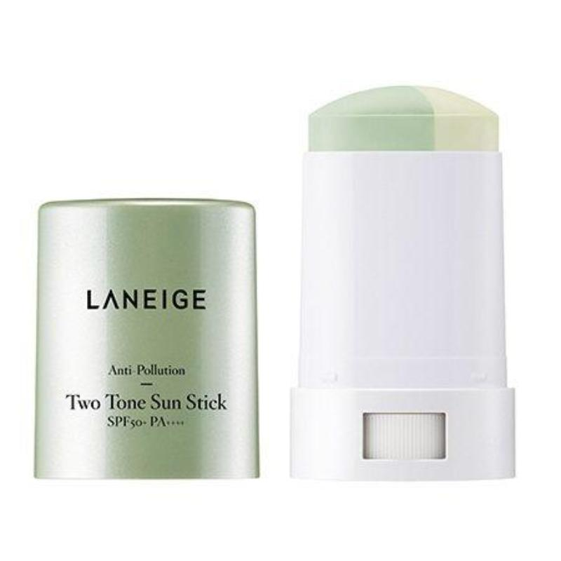 LANEIGE ANTI-POLLUTION TWO TONE SUN STICK 18GR - impaviid