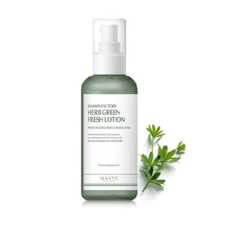 MANYO FACTORY HERB GREEN FRESH LOTION 120ML