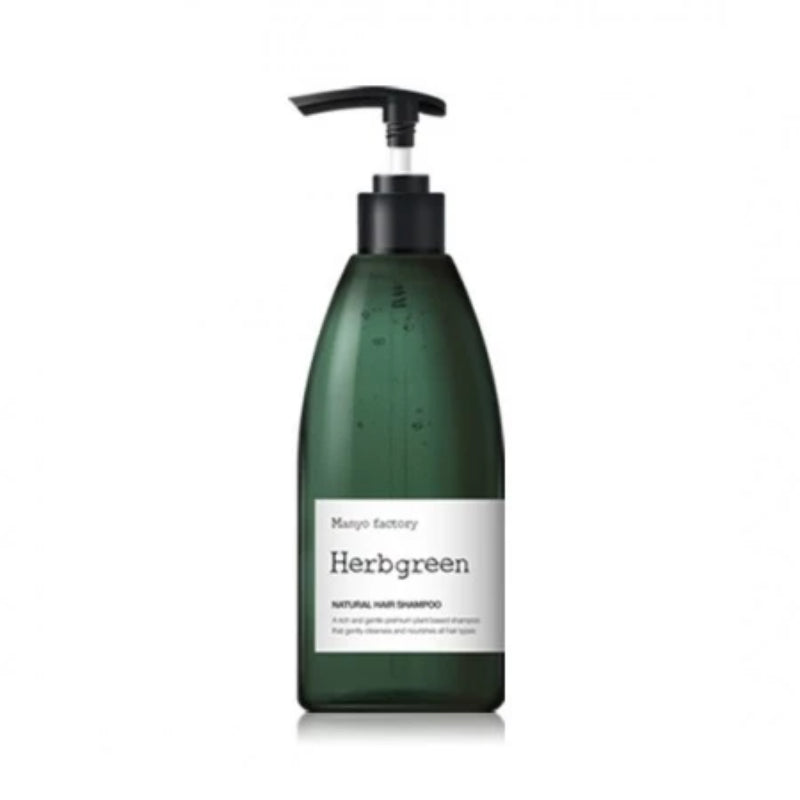 MANYO FACTORY HERBGREEN NATURAL HAIR SHAMPOO 530L